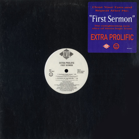 Extra Prolific   - First Sermon