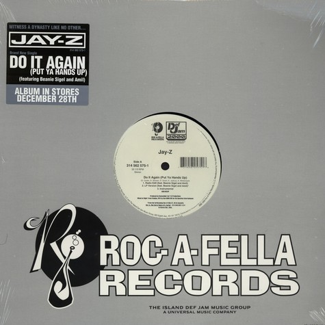 Jay-Z - Do It Again (Put Ya Hands Up) feat. Beanie Sigel And Amil