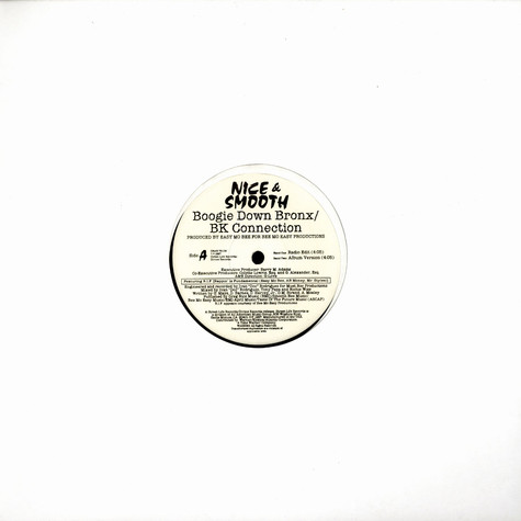 Nice & Smooth - Boogie Down Bronx