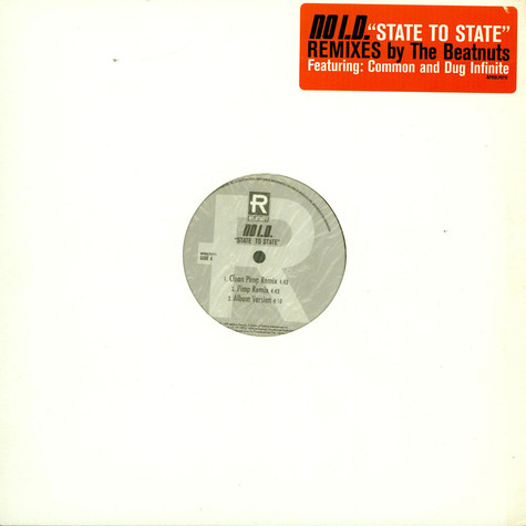 No I.D. - State To State (Remixes)