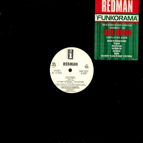 Redman / Wixtons, The - Funkorama / Up Jump The Boogie