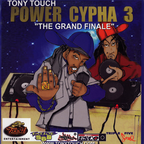 "Tony Touch - Power Cypha 3 ""The Grand Finale"""