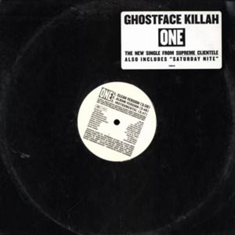 Ghostface Killah - One