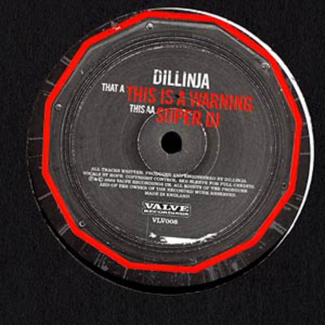 Dillinja - This is a warning