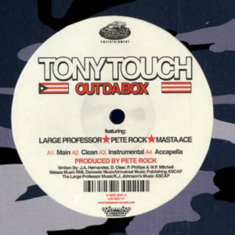 Tony Touch - Out da box