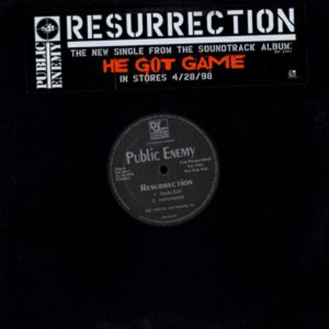 Public Enemy - Resurrection