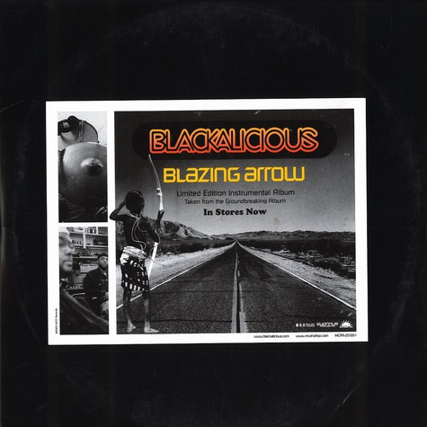 Blackalicious - Blazing arrow Instrumentals