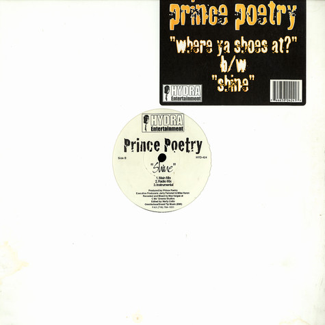 Prince Poetry - Where ya shoes at ?