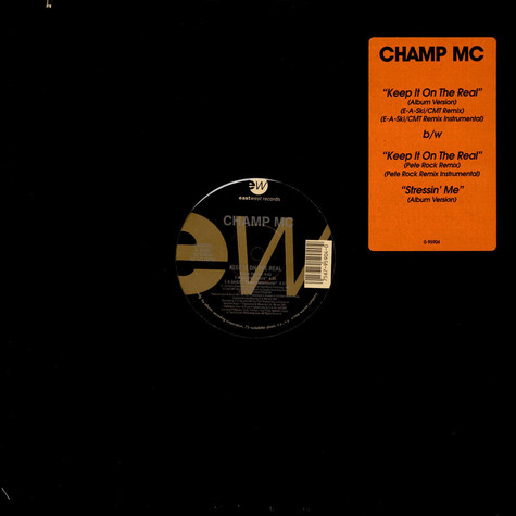 Champ MC - Keep It On The Real