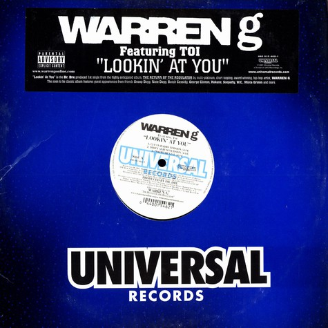 Warren G - Lookin at you feat. Toi
