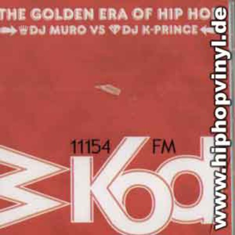 DJ Muro vs. DJ K-Price - The golden era of hip hop