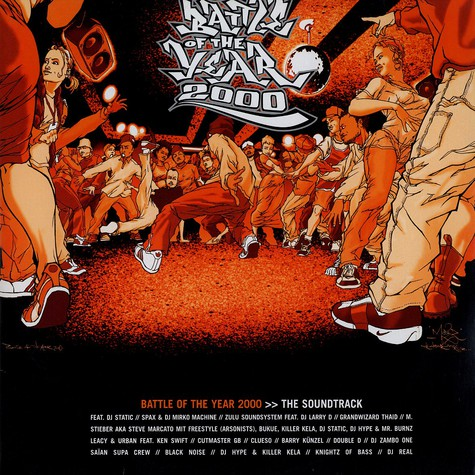 V.A. - Battle of the year 2000