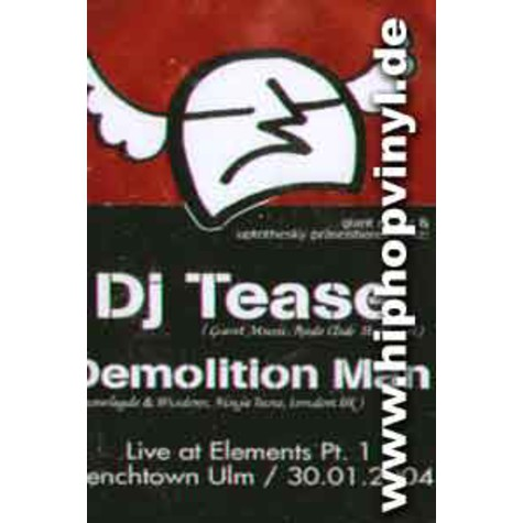 DJ Tease & Demolition Man - Live at elements pt.1