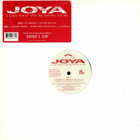 Joya - I like what you're doing to me