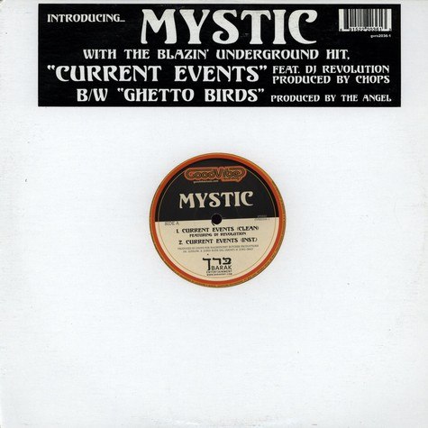 Mystic - Current events feat. DJ Revolution