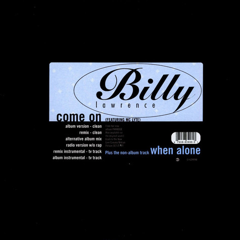 Billy Lawrence - Come On