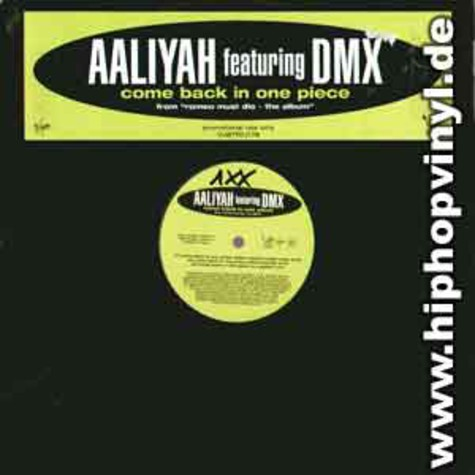 Aaliyah - Come Back In One Piece