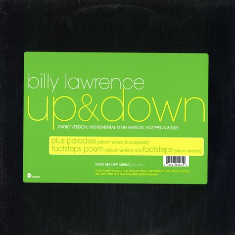 Billy Lawrence - Up & down