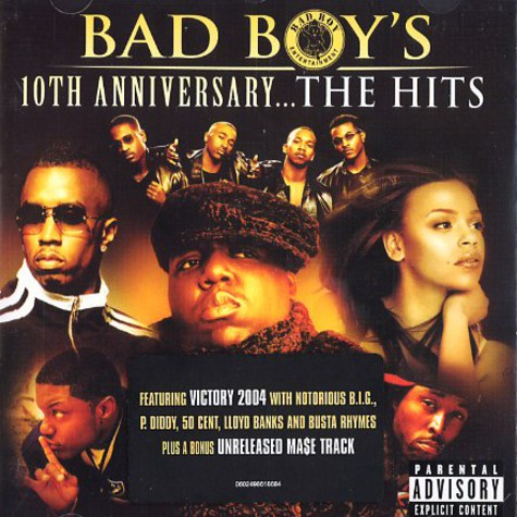 Bad Boy presents - 10th anniversary ... the hits