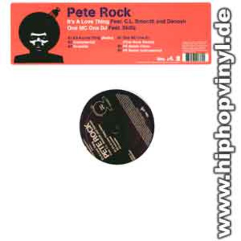 Pete Rock - It's a love thing feat CL Smooth