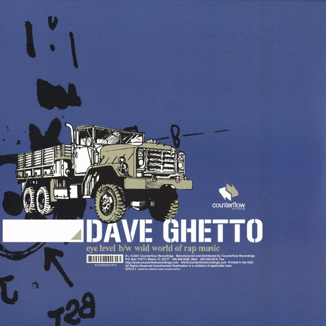 Dave Ghetto of The Nuthouse - Eye level