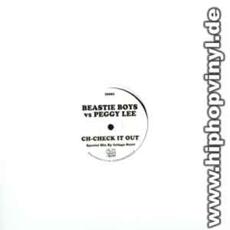 Beastie Boys vs. Peggy Lee - Ch-check it out remix