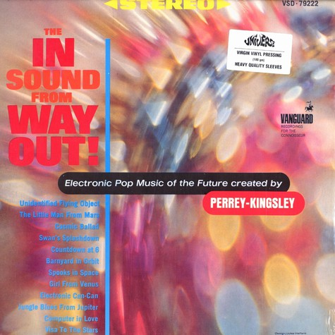 Jean Jaques Perrey - The in sound from way out