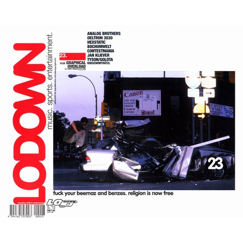 Lodown Magazine - Issue 23 oct 2000
