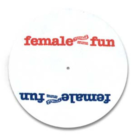 Slipmat - Female fun logo