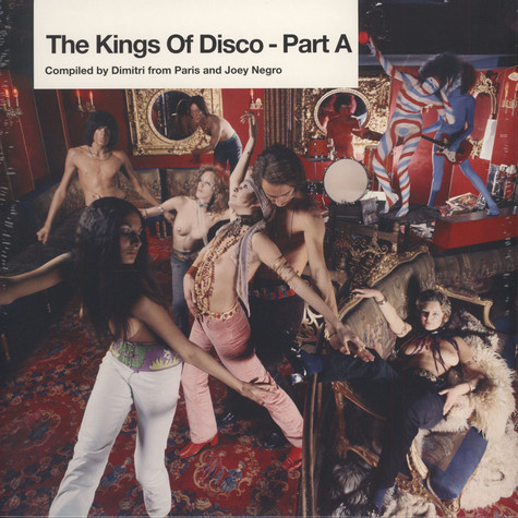 V.A. - The kings of disco - compiled by Dimitri & Joey Negro - Part A