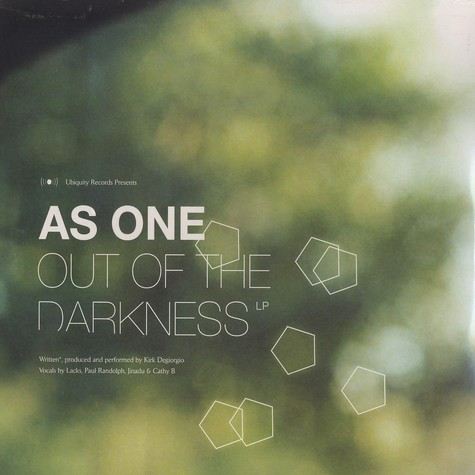 As One - Out Of The Darkness
