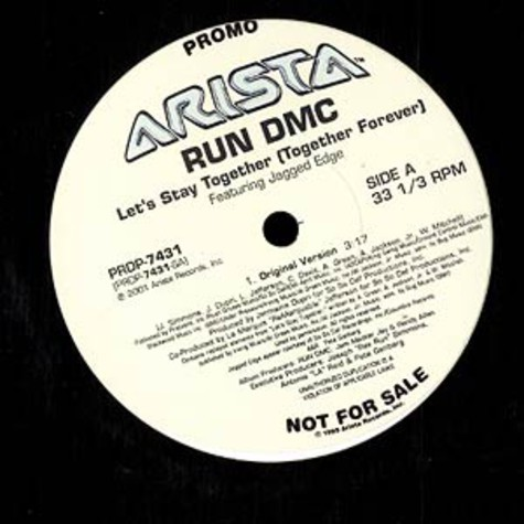 Run DMC - Let's stay together feat. Jagged Edge