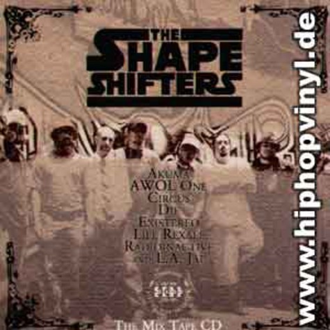 Shapeshifters - The mix tape cd