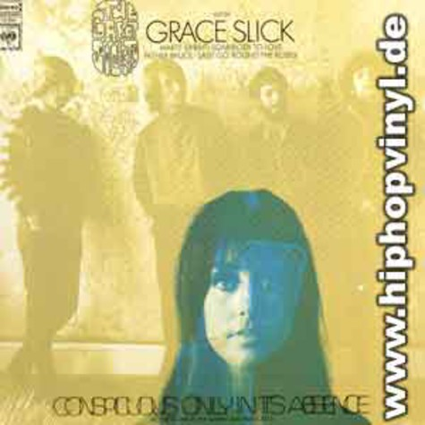 Grace Slick & The Great Society - Conspicious only in its absence