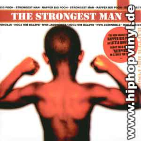 Rapper Big Pooh of Little Brother - The strongest man