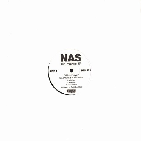 Nas - The prophecy EP vol.1