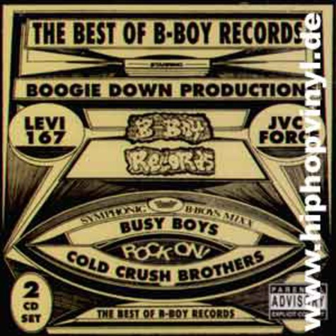 V.A. - The best of b-boy records