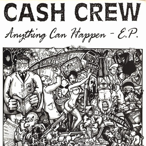 Cash Crew - Anything Can Happen E.P.