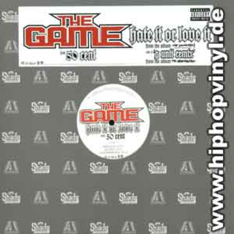 Game of G-Unit - Hate it or love it feat. 50 Cent