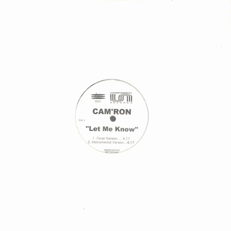 Camron - Let me know