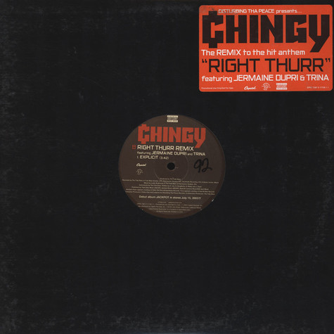 Chingy - Right thurr remix feat. Jermaine Dupri & Trina