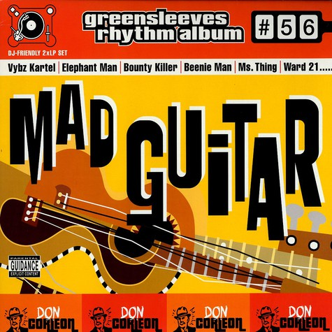 Greensleeves Rhythm Album #56 - Mad guitar