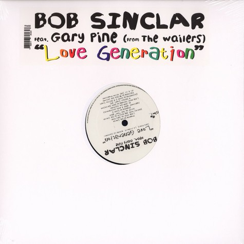 Bob Sinclar - Love generation feat. Gary Pine of The Wailers