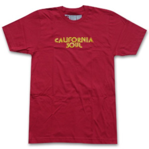Ubiquity - California soul T-Shirt (yellow/orange font)