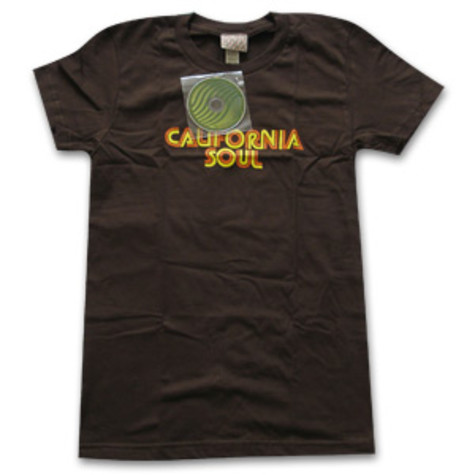 Ubiquity - California soul Women T-Shirt (yellow/orange font)
