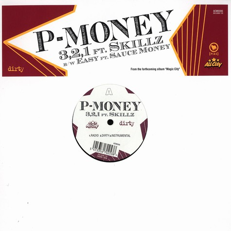 P-Money - 3,2,1 feat. Skillz