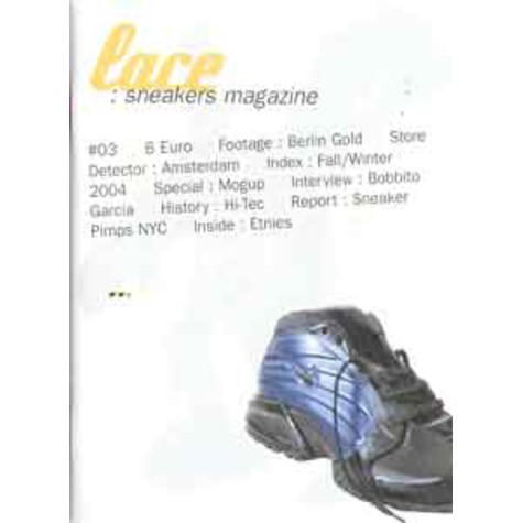 Lace Sneakers Magazine - 3
