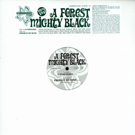 A Forest Mighty Black - Candyfloss