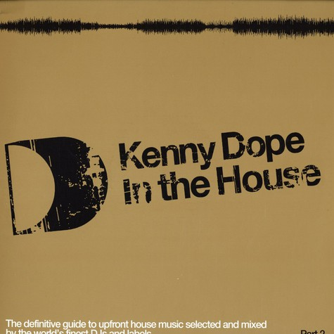 Kenny Dope - In the house volume 2