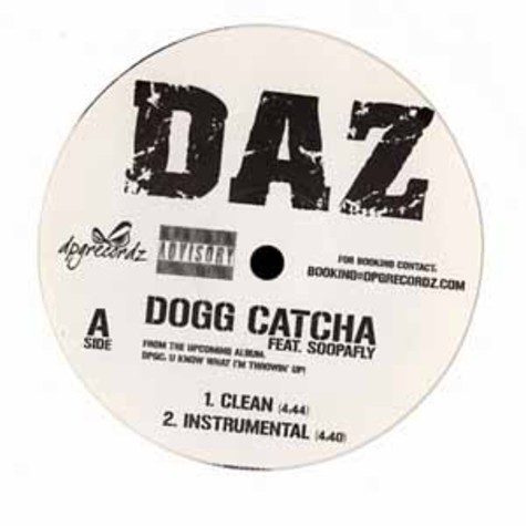 Daz - Dogg catcha